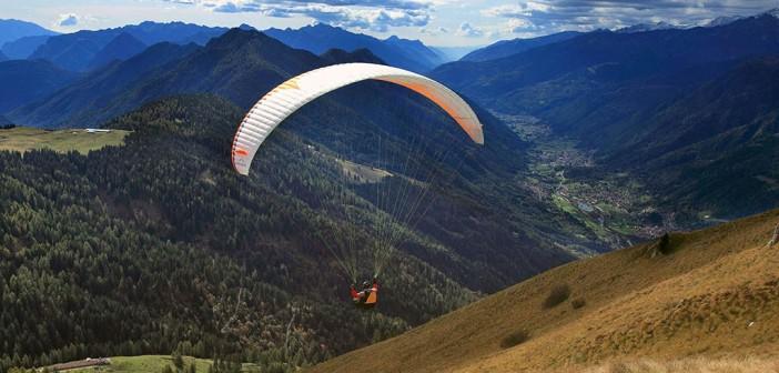 Paragliden im Val Rendena