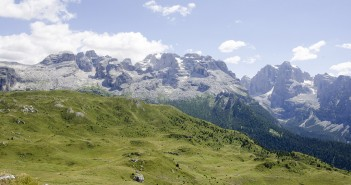 Die Brenta Dolomiten bei San Lorenzo in Banale
