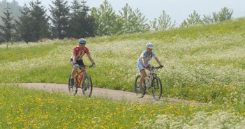Mountainbiking in der Natur des Val de Sol