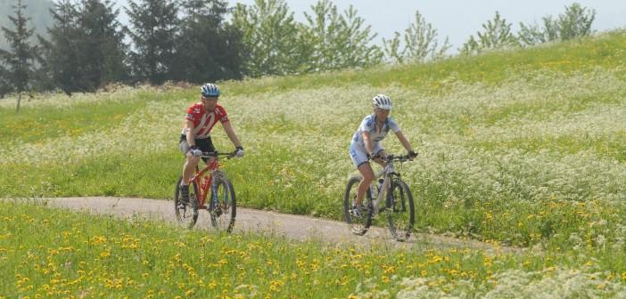 Mountainbiking in der Natur des Val de Sol