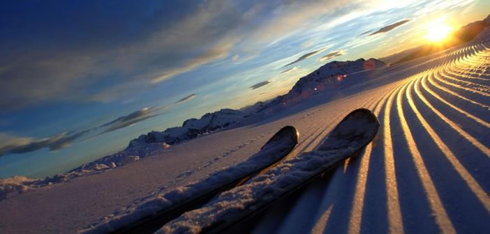 Mit Trentino Ski Sunrise genießen Frühaufsteher die Magie des Schnees beim Sonnenaufgang